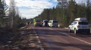 Diákokat szállító busz szenvedett balesetet Svédországban