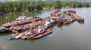 100 milliós hajóroncsokhevernek a Dunában