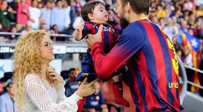 Shakira és Piqué fia is sportoló lesz