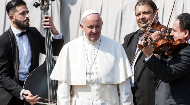 Mága Zoltán: Nem ő volt az első pápa, akinek játszhattam