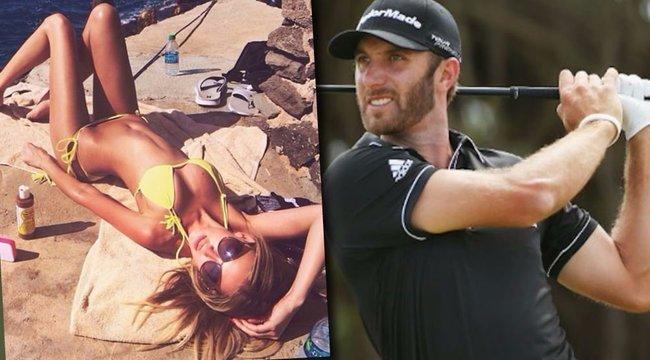 Bombanők kísérik a golfozó sztárokat - fotók
