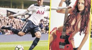 Dögös modellel csalja csaját a Tottenham sztárja