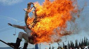Durva: súlyosan megégett, csak hogy megnyerje a fődíjat – videó