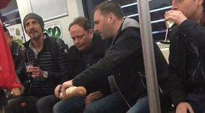 Irtó menő vagy végtelenül bunkó? Turisták piknikeztek a metróban
