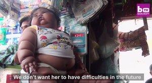 Michelin babává puffadt a 8 hónapos kislány