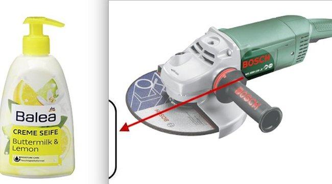 Vigyázzon, ha a dm-ben vett szappant, vagy aBosch-tól sarokcsiszolót!