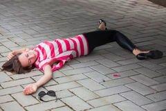 Ájult nőt fosztottak ki a Király utcában