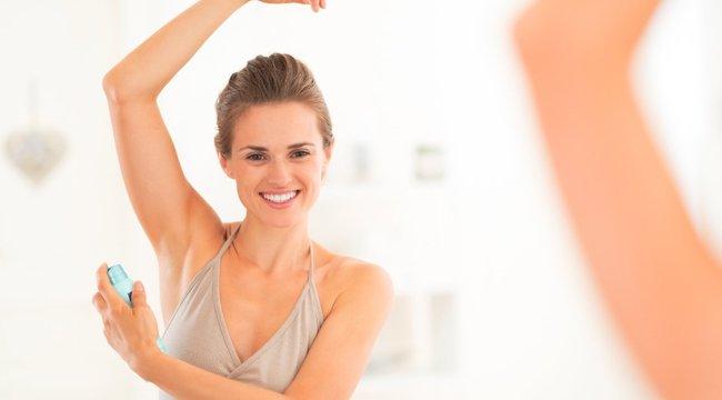 Lefekvés előtt használjuk a dezodort!