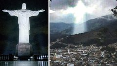 Megjelent Jézus a tömegkatasztrófa helyszínén? fotó