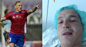 Műtét után egyből edzést tartott a Vasas tréner-játékosa