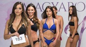 Miss World Hungary-válogató: édesapa, báty és vőlegény is volt a kísérők közt