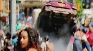 Így hajtott a tömegbe a részeg autós New Yorkban – sokkoló felvétel