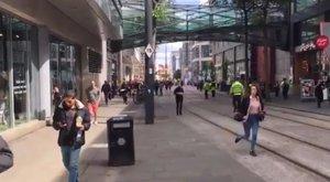 Manchester: pánik tört ki egy bevásárlóközpontban