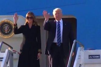 Mi történt? Felesége végre nem csinált hülyét Donald Trumpból - videó