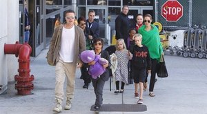 A gyerekek születésnapját sem együtt ünnepli Brad Pitt és Angelina Jolie
