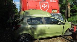 Horrorbaleset: nem tudni, miért hajtott a vonat elé Rózsika