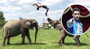 Elefántokon szaltózik a Magyar Nemzeti Cirkusz sztárja