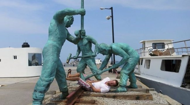 Ezt nézze! Életre keltették a szobrokat – képek