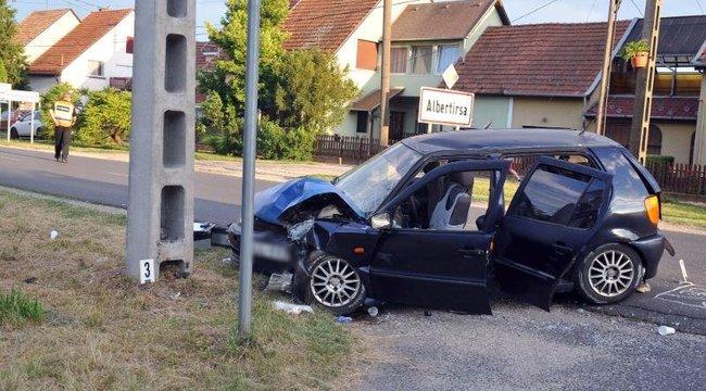 Borzalmas baleset Albertirsán: három ember súlyosan megsérült