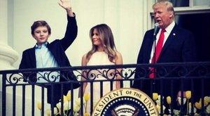 Donald Trump felesége és kisfia beköltözik a Fehér Házba