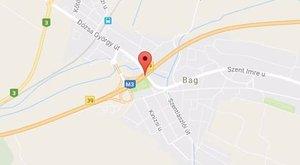 Tömegbaleset az M3-ason: kilenc autó ütközött