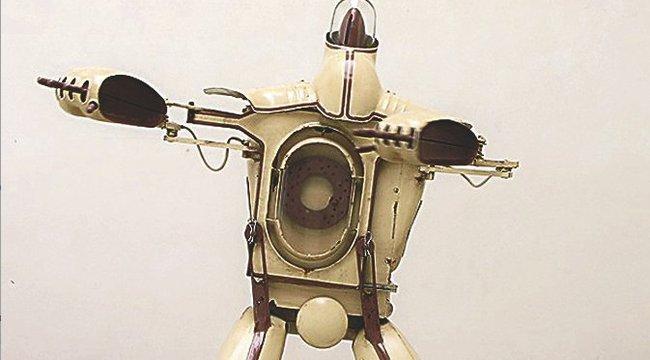 Befőttekből készít szobrokat Robotto
