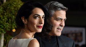Szerelem volt első látásra Clooneyék között