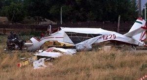 Hörgött a repülő zuhanás közben - a pilóta és tanítványa halt meg Halászteleken