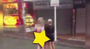 Jól sikerült a buli: meztelenül kóvályogtak az utcán a lányok kora reggel - videó