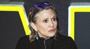 Kokain, heroin és ecstasy is volt Carrie Fisher vérében