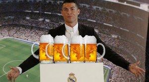 Ingyen sörrel csalogatja Ronaldót a szakadt futballklub