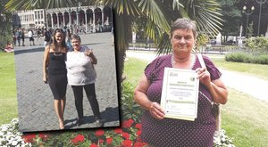 Brüsszelig repítette a spórolás Juci mamát
