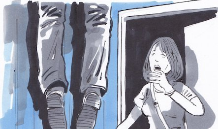 Szerelme lakásán akasztotta fel magát a férfi Békés megyében