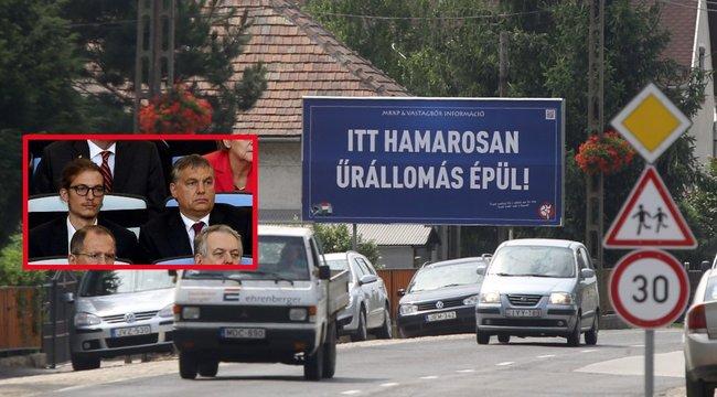 Űrállomás-avatóra jelentkezett Orbán fia