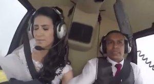Élete álmát valósította meg esküvője napján, ám az esküvőre már nem került sor