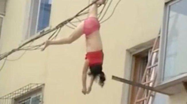 Kizuhant a szerető az ötödikről, mégis túlélte - videó