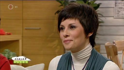 Nagy Judit, az MTV műsorvezetője a lányával tanult meg újra beszélni