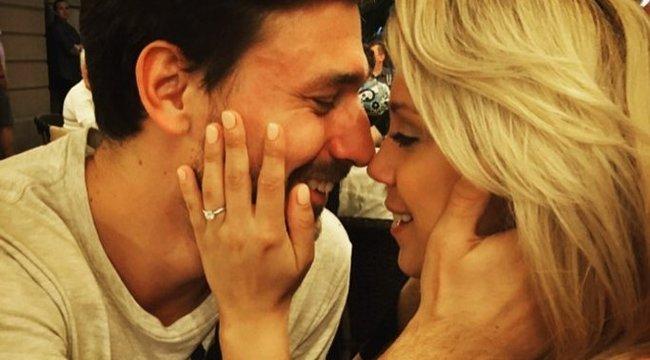 Hollywoodban szerelmeskedik Kiss Ramóna és párja