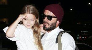 A Buckingham palotában ünnepelt Beckhamék lánya - fotók