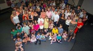 90 éves néninek 44 unokája, 99 dédunokája, 20 ükunokája van