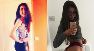 13 kilót hízott, bomba nő lett Amie