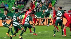 Hiába vezetett két góllal a Fradi, 4-2-re kikapott az EL-selejtezőn