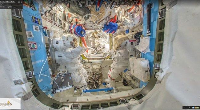 Már az űrállomáson is sétálhatunk