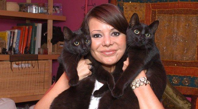Kutyát ment, és macskát is tart Judy