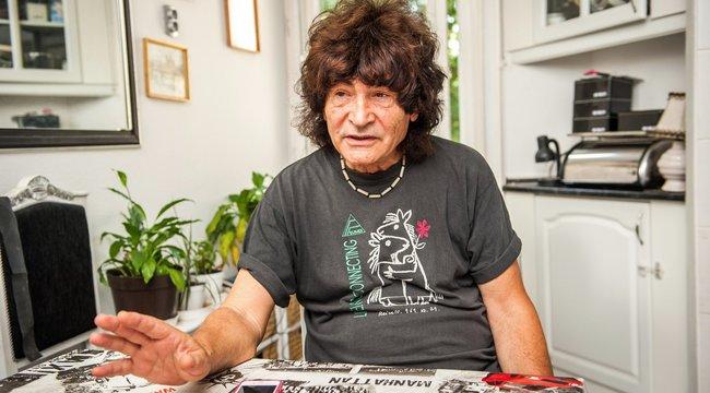 Zúz és varr a Piramis legendás gitárosa
