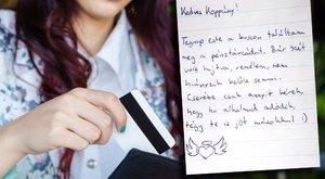 Visszahozott pénztárca: jótevőjét keresi Koppány
