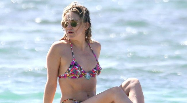 Kate Hudson: Megöregedni szívás!