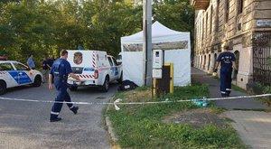 Rendőri intézkedés közben halt meg egy férfi Újpesten - fotók