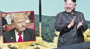 Trump és Kim Dzsong Un egymást fenyegeti