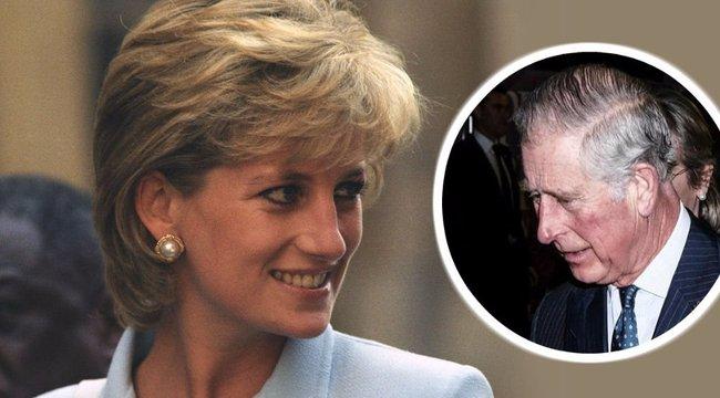 Károly kiakadt Diana hercegné filmjén